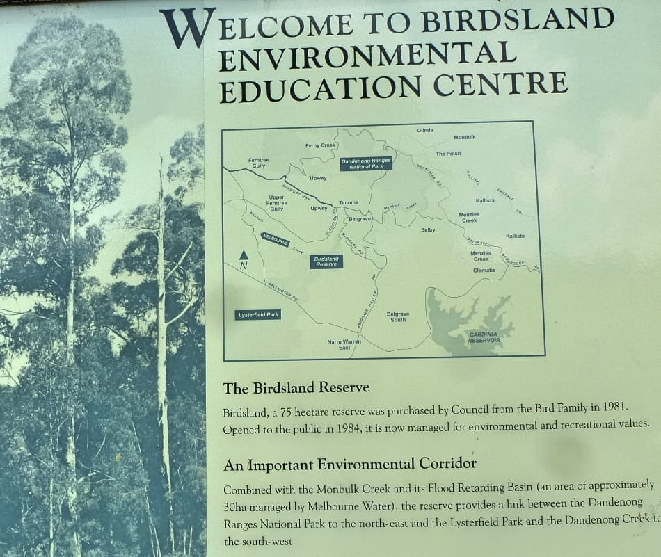 Birdsland Reserve Educational entre