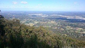 Views over Melbourne, Bourkes Lookout, Mt Dandenong