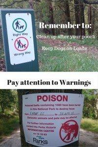 Dog Walking Rules Dandenong Ranges