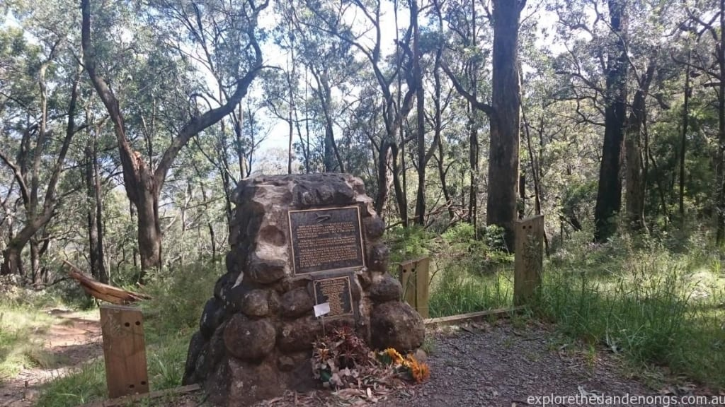 Kyeema Crash Site Memorial, Mount Dandenong