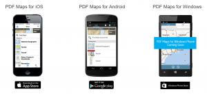 PDF Maps App for Dandenong Ranges