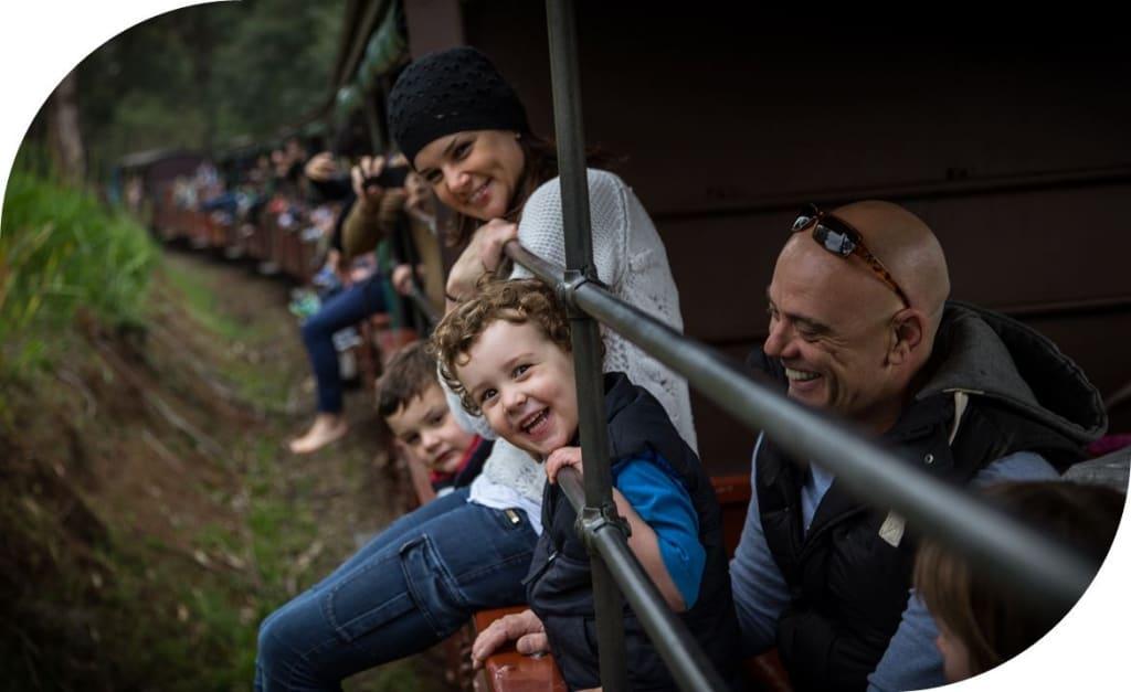 Puffing Billy Railway Steam Train