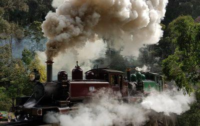 Puffing Billy Railway Belgrave Australia