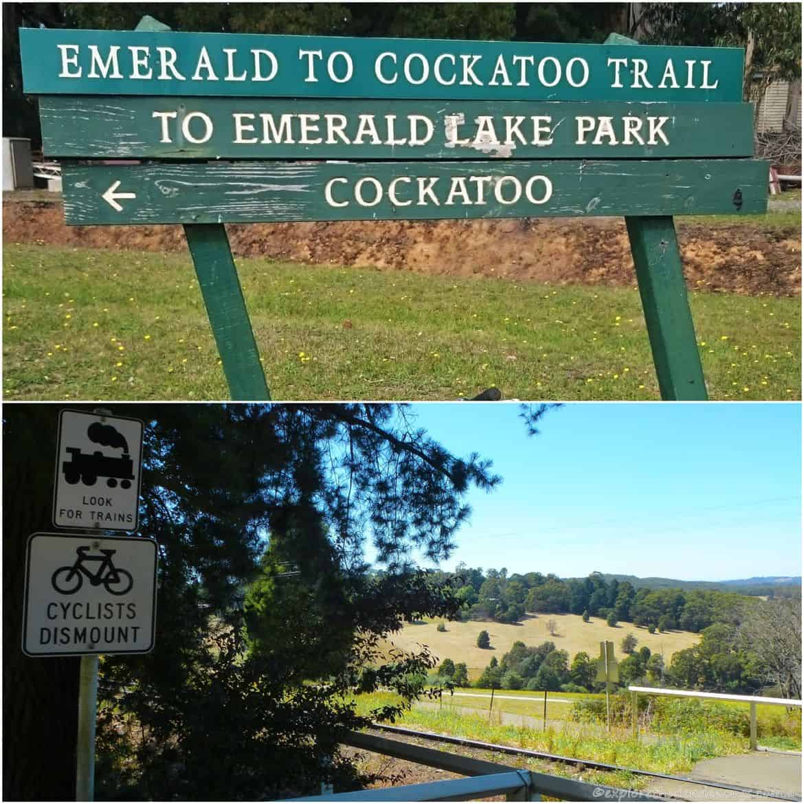 Emerald to Cockatoo Walking Track & Bike ride