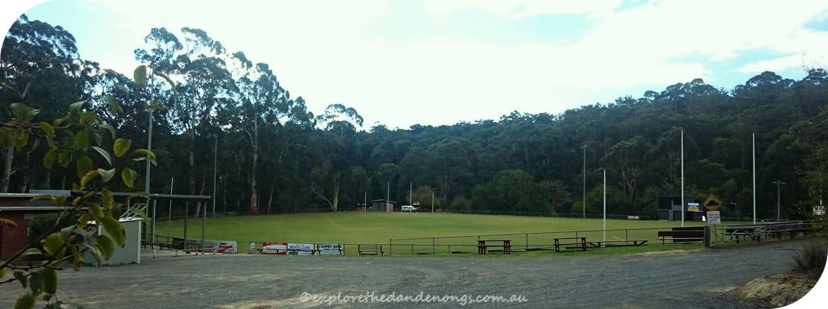 Mt Evelyn Recreation Reserve field