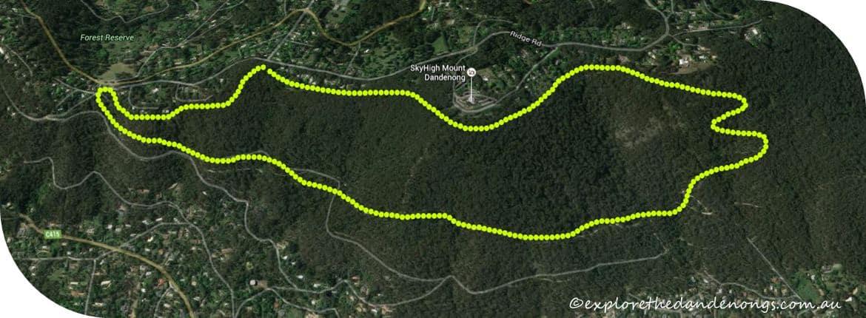 Western Slopes Hike Mount Dandenong