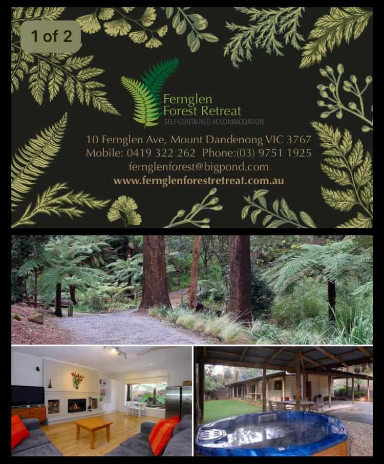 Fernglen Forest Retreat Mt Dandenong