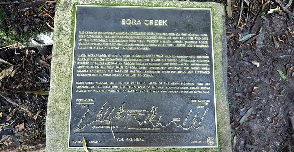 Eora Creek Memorial, 1000 Steps, Dandenong Ranges