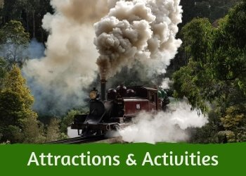 Attractions and activities in the Dandenong Ranges
