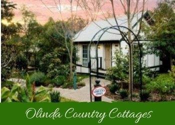Image of Olinda Country Cottages in the Dandenong Ranges