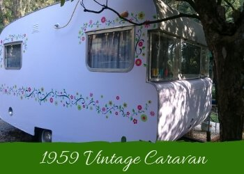 Vintage Caravan Accommodation Dandenong Ranges