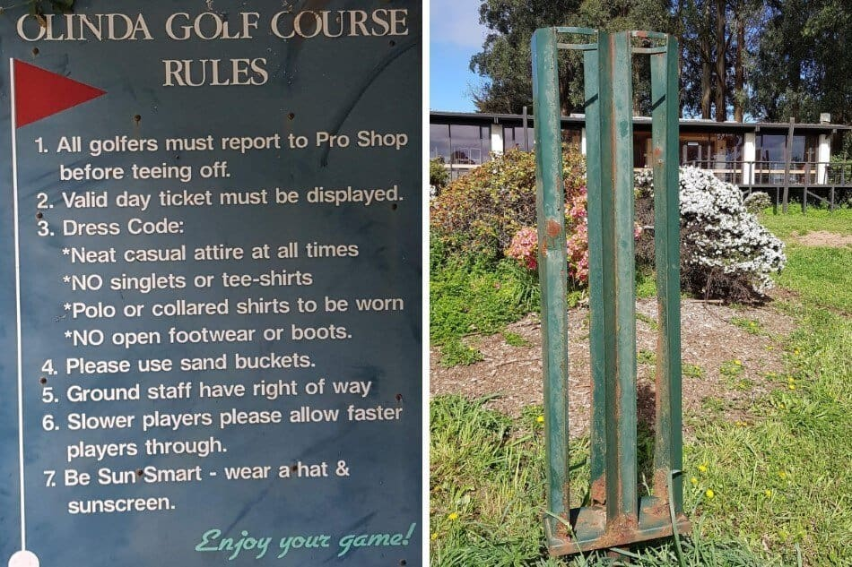 Image of Olinda Golf Course Rules