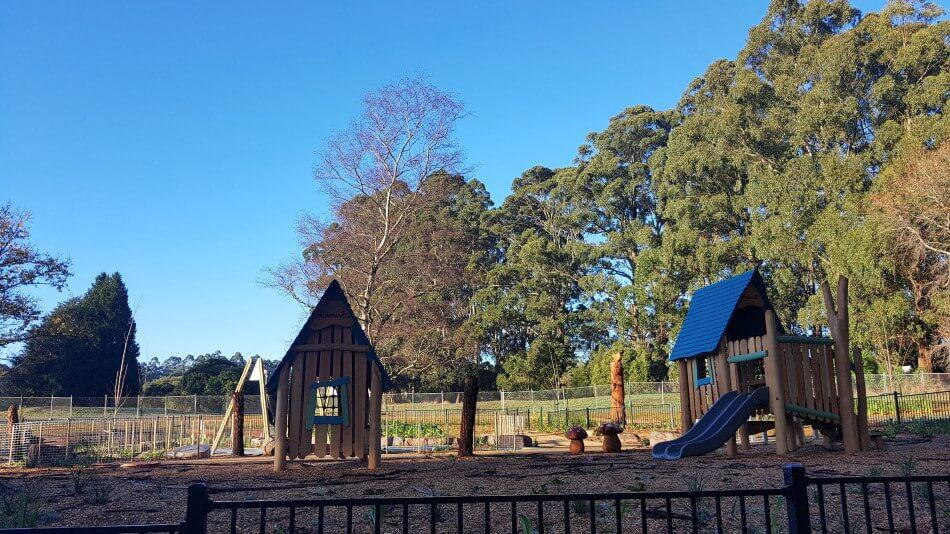 Olinda Golf Course Playground Dandenong Ranges