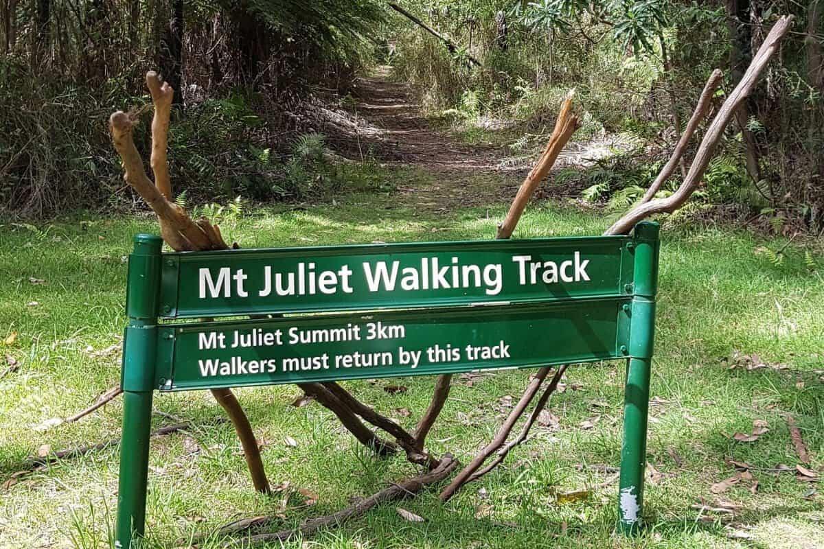 Mt Juliet Bushwalking Track, Yarra Valley